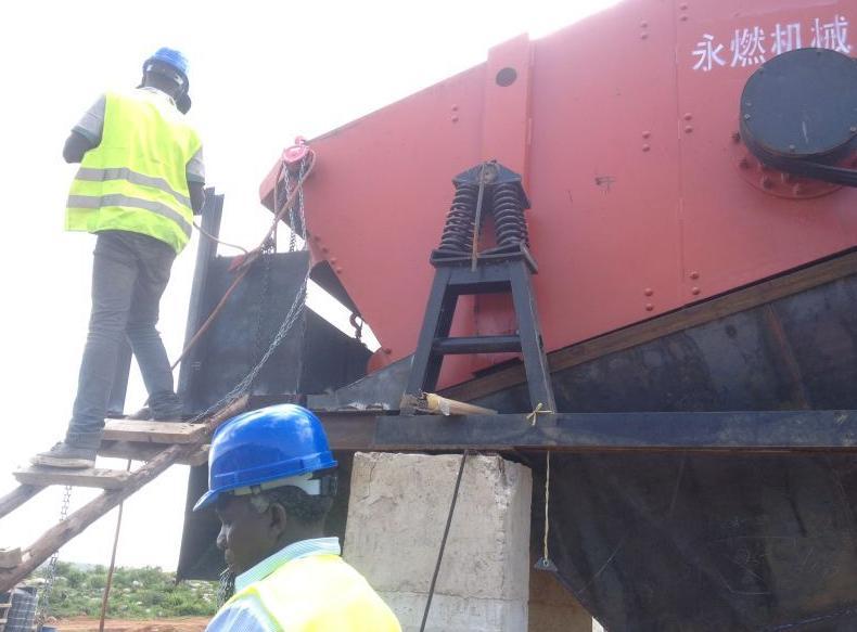 埃塞俄比亞時產500噸碎石生產線...